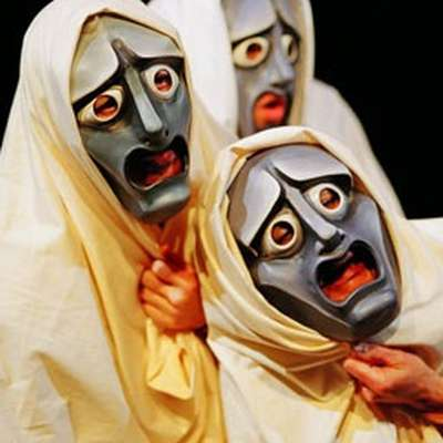 the role of chorus in greek A greek chorus, or simply chorus (greek: χορός, khoros) in the context of ancient greek tragedy, comedy, satyr plays, and modern works inspired by them, is a homogeneous, non-individualised group of performers, who comment with a collective voice on the dramatic action.