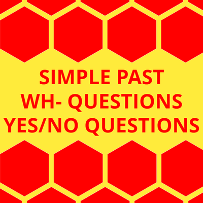 Simple Past, wh- questions and yes/no questions