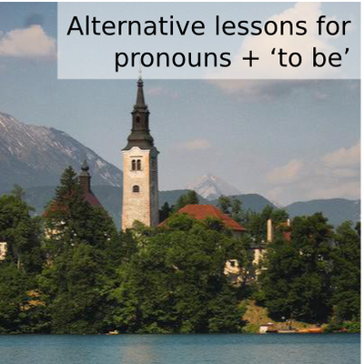 Basic Slovenian I supplement: to be + pronouns