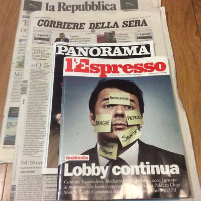 Reading Italian Newspapers