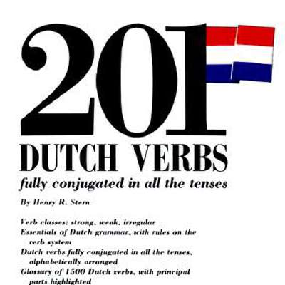201 Dutch Verbs With Past Tense