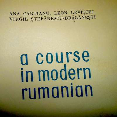 A course in modern Rumanian (1958)
