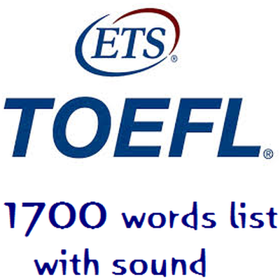 1700 Vocabs for TOEFL IBT with Audio