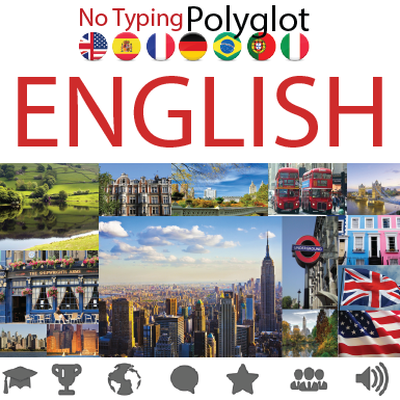 Learn  English  for  Polyglots  •  No Typing