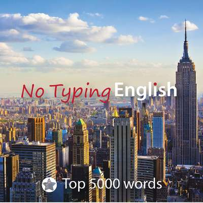 Learn 5000 English words • No Typing