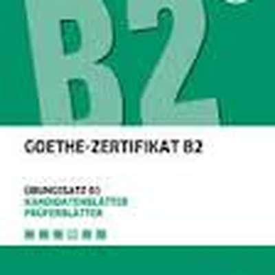 Goethe Zertifikat B2 Memrise