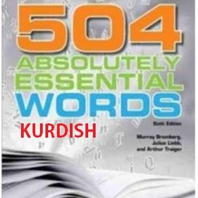504 Absolutely Essential Words Kurdish