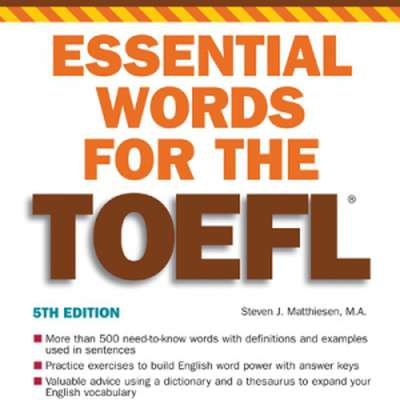Essential Words for the TOEFL (Kurdish)