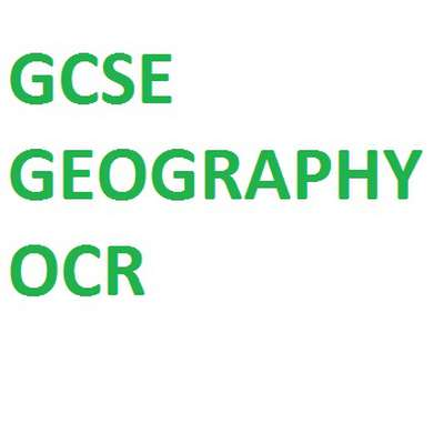 Ocr geography coursework help