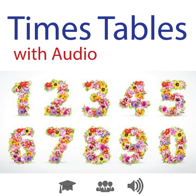 Times Tables with Audio