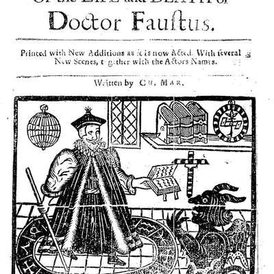 Doctor faustus essay second rate magician