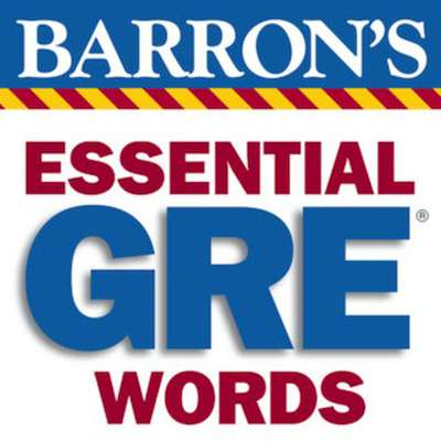 Challenging GRE Words From Barron's Essential 800