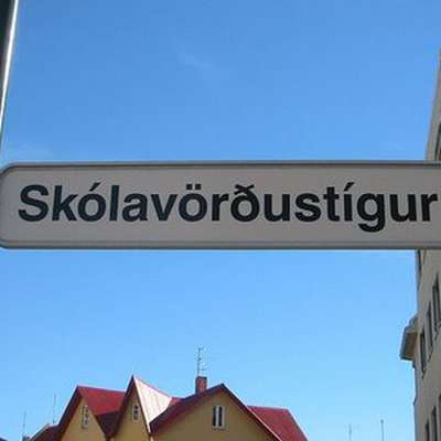 Icelandic, from A to Ö