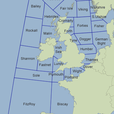 Shipping Forecast Map Level 1   Map of Shipping Forecast Zo   Memrise Shipping Forecast Map