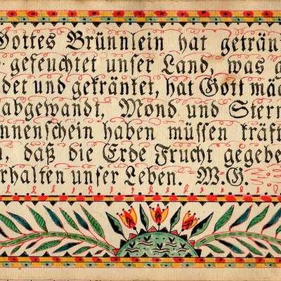 German Fraktur Alphabet