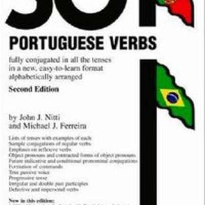 Barron's 501 Portuguese Verbs (Paperback) by John J. Nitti & Michael J. Ferreira