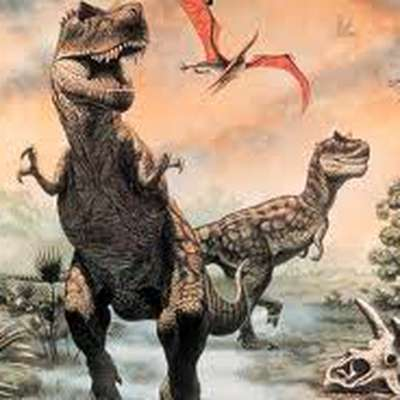 Animals of the Mesozoic (Dinosaurs)