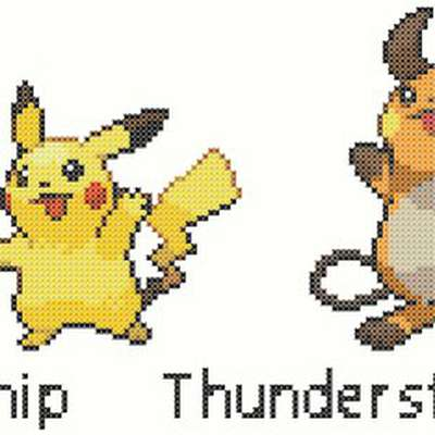 Pikachu evolution chain