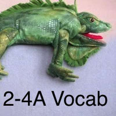 Realidades Book 2- 4A Vocabulary