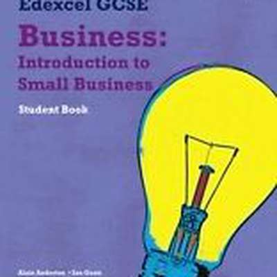 Edexcel GCSE Business - Unit 1 (definitions)