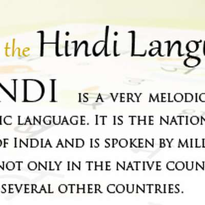 Basic Hindi (Roman Characters)