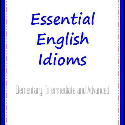 essential english idioms elementary pdf