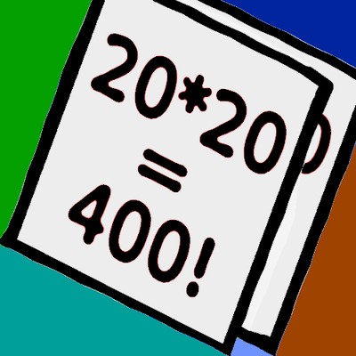1-20 Multiplications
