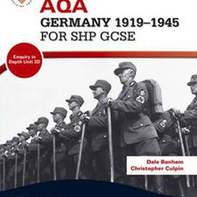 (GCSE - AQA) Germany 1918 - 1945 Weimar Revision