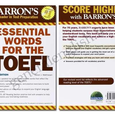 Barron's TOEFL (FULL) - Memrise