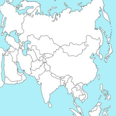 Panstwa Swiata Azja By Ove1299 Memrise