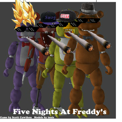 all five nights at freddy s animatronics memrise