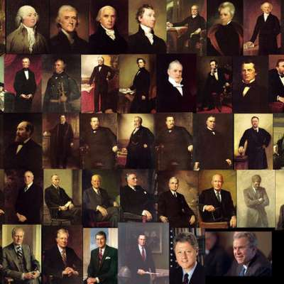 American Presidents Order and Portraits