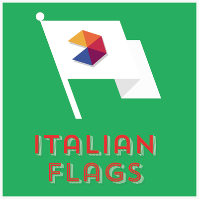 All Italian Region Flags