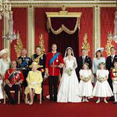 The Current British Royal Family