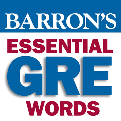 Barron's 800 Essential Word List - GRE - Memrise