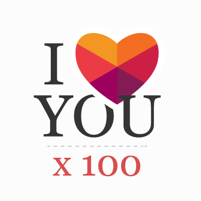 """I love you"" in 100 languages"