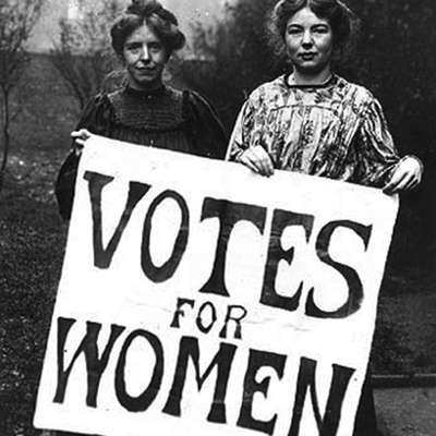 gcse history coursework votes for women