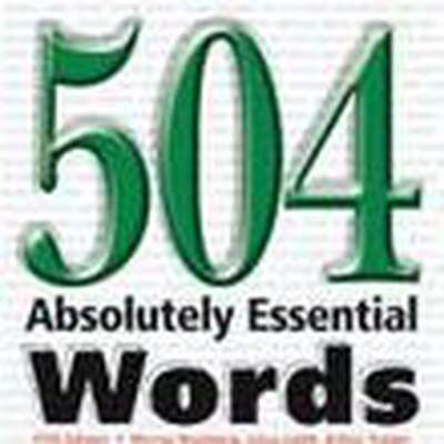 504 Essential English Words
