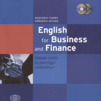 English for Business and Finance szavai