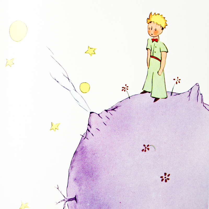 French words from Le Petit Prince