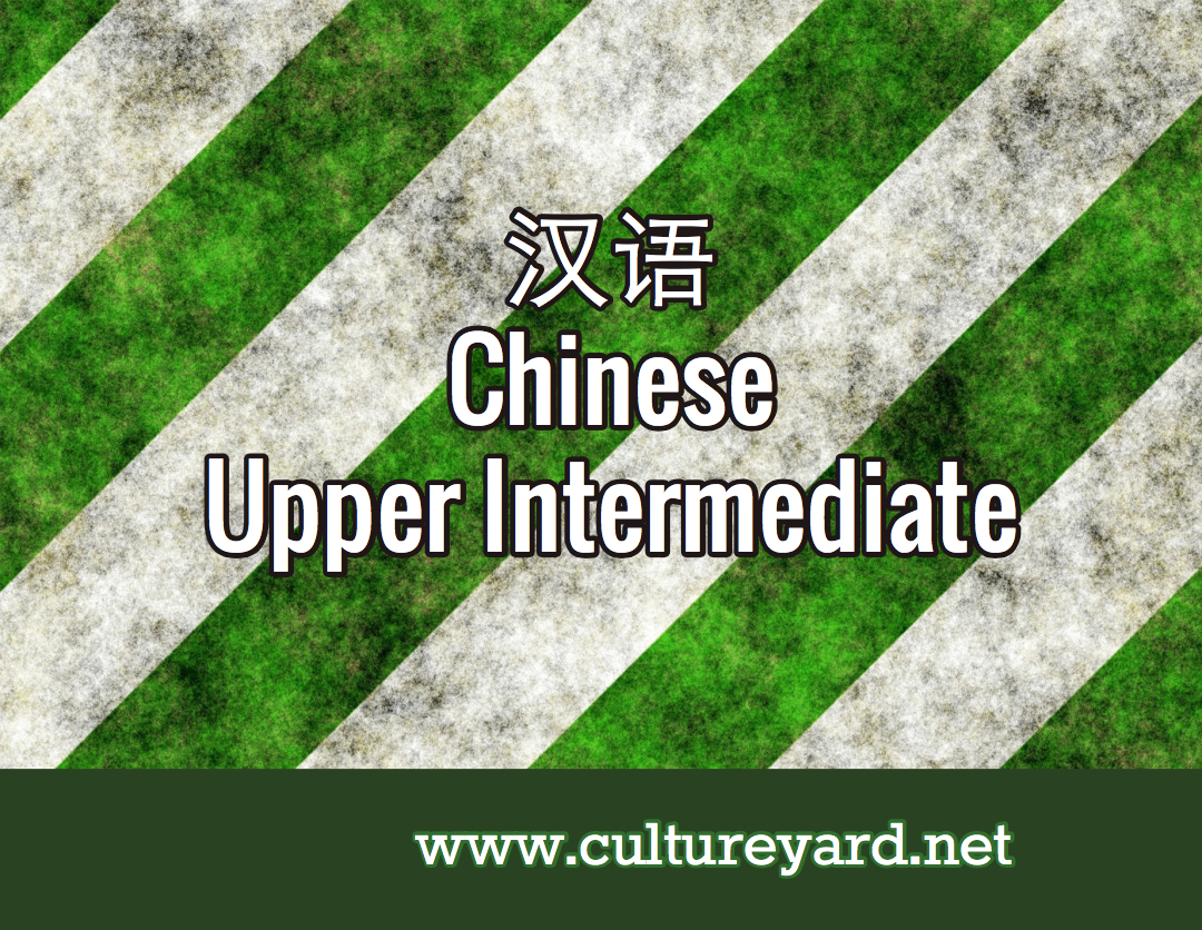 Culture Yard Chinese Upper Int