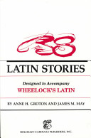 38 Latin Stories Vocabulary (Ch 1-12)
