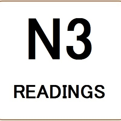 JLPT N3 Readings