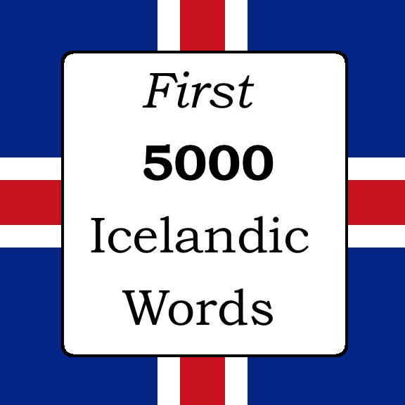 First 5000 Icelandic Words
