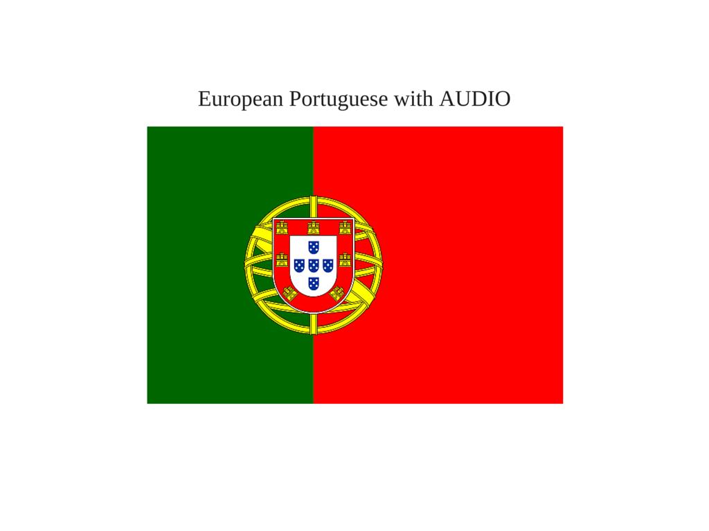 Portuguese Beginners