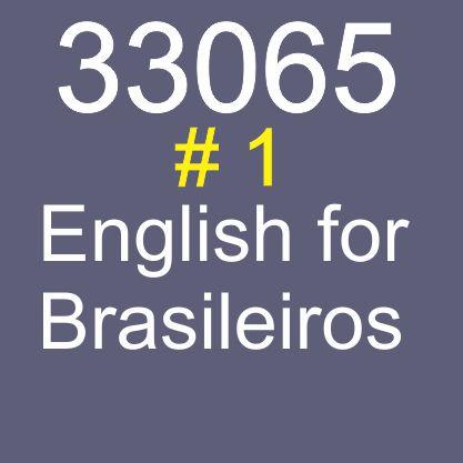 33065 - English for Brasileiros