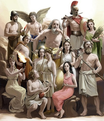 Ancient Greek Gods (Olympian)