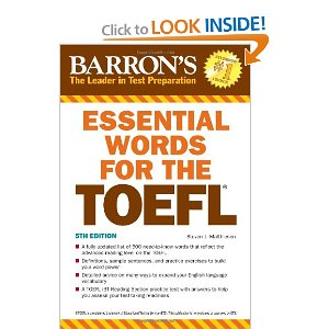 Essential Words For TheToefl 5th Editon with Audio
