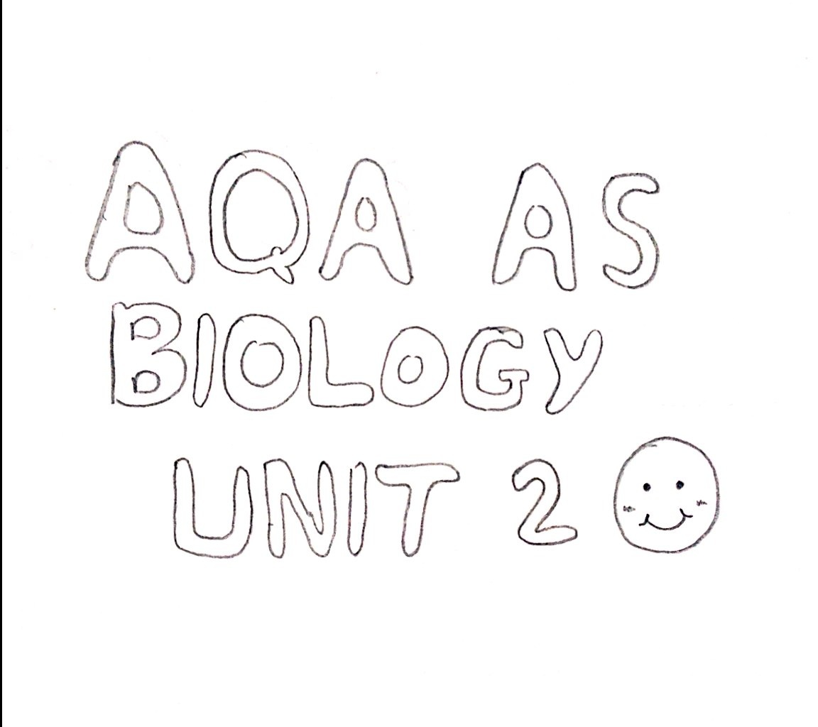 AQA AS Biology Unit 2