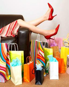 A roupa e as compras